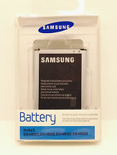Batteria originale Samsung Galaxy Note 3 N9000 in blister, garanzia europea