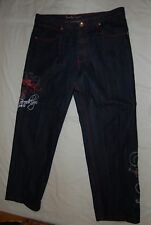 BROOKLYN XPRESS Embroidered Jeans Mens Size 40X34