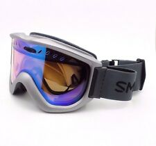 Smith Optics Knowledge OTG Goggle Graphite Blue Sensor Mirror New Authentic