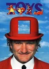 Toys (DVD, 2013)Robin Williams-Has Copied Artwork!!!!BELOW!!!