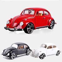 1:18 Vintage VW Beetle Superior 1967 Model Car Diecast Gift Toy Vehicle Kids