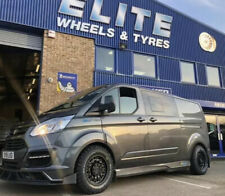 "16"" BLACK RHINO ARSENAL ALLOY WHEELS FORD TRANSIT CUSTOM RUGGED ALLOYS"