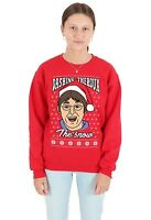 Foo Fighters Ugly Christmas Sweater Sweatshirt Red Xxl 2xl Ebay