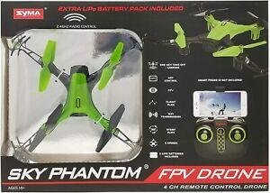 Phantom Sky WiFi FPV Drone-Green