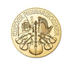 1 tenth oz Gold 2018 Austrian Philharmonic coin