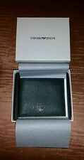 Brand New Authentic EMPORIO ARMANI Original Men's Wallet Dark Forest Green
