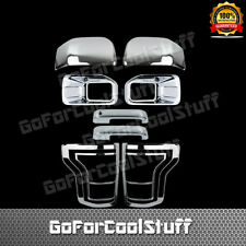 15-16 FORD F150 Fog Lamp+Mirrors+2 Door Handles+2 Tail Light Chrome Cover