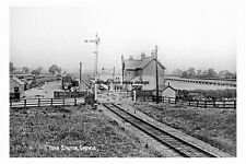 pt1060 - Town Railway Station , Crowle , Lincolnshire - photo 6x4