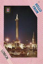 Alte Postkarte - Hello from London