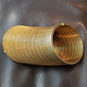 Vintage 40th Anniversary Gold Brass Slinky