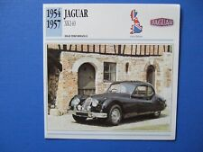 COLLECTORS CARD- GB-1954-57 -JAGUAR XK140 HIGH PERFORMANCE VEHICLE