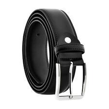 Men's 5XL Big & Tall Genuine Black Leather Belts Plus Sizes 58-60 XXXXXL