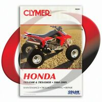 2004-2009 Honda TRX450ER Repair Manual Clymer M201 Service Shop Garage