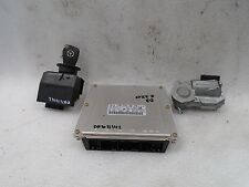 DK611142 03-06 MERCEDES E320 W210 ENGINE COMPUTER SMART KEY IGNITION SET OEM