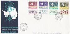 ANT10638) FDC British Antarctic Territory 1971, Antarctic Treaty 1961-71, postma