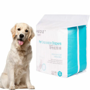 1 Pack Pet Dog Disposable Diapers Soft No Side Leakage For Male Female Dog New