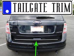Ford EDGE 2007 2008 2009 2010-2014 2015-2018 Chrome Tailgate Trunk Trim Molding