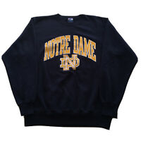 Vintage 90s Champion Sweatshirt Mens XL Notre Dame College Spell Out Pullover OG