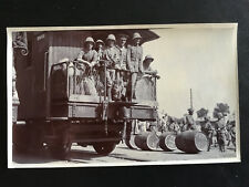 CHINA BOXER REBELLION BRITISH SOLDIERS ON TRAIN FROM TIENTSIN TO PEKING 八国联军英军进京