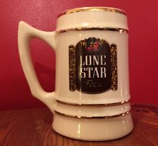 Lone Star Beer Stein