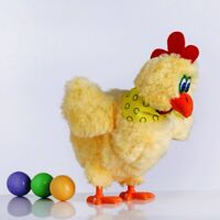 Kids Toy Singing Dancing Chicken Can Egg Laying Sound Music Chicken Soft Toys AU