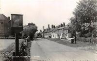 Vintage 1961 Real Photo Postcard, Village Sign, Cranbrook, Kent 29W