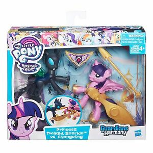 My Little Pony Guardians of Harmony Princess Twilight Sparkle Changeling Figure