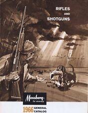 ORIGINAL Vintage 1966 Mossberg Shotguns Rifles Catalog
