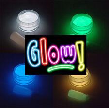 UV Glow in the Dark Powder Pigment Fluorescent UV Neon Nail Art 5ml pot 5g