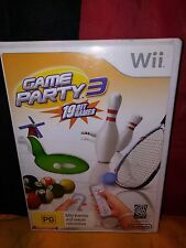 Game Party 3 - Wii Edition - Includes Manual