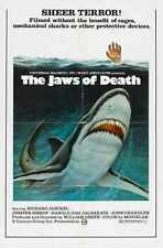Jaws Of Death Poster 01 A2 Box Canvas Print