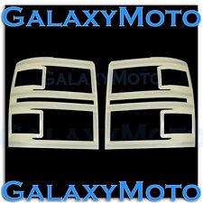 14-15 Chevy Silverado 1500 Extended+Crew Cab Non-Paint Headlight Trim Cover