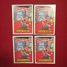 4 Garbage Pail Kids Trading Cards Bloody Mary 298A Donna Donor 298B Topps GPK