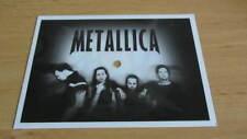 Metallica Fade To Black Flexi Picture Disc Postcard Poland