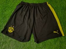 BORUSSIA DORTMUND GERMANY 2013-2014 FOOTBALL SHORTS AWAY PUMA ORIGINAL SIZE XL