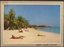 SAMET-Islanda Thailand-cartolina postcard AK (Lot a3564