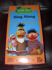 *NEW* SEALED! VHS SESAME STREET Sing Along VHS *SUPER RARE* VINTAGE COLLECTIBLE