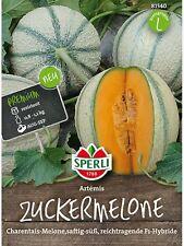 """Sperli Zuckermelone """" Artemis """" Charentais-Melone 81540   F1-Typ   Melonen Samen"""