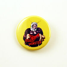 Robot Monster - 1 1/4 inch pinback button classic horror sci-fi MST3K ro-man
