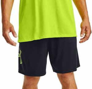 Men Under Armour Heat Gear Shorts Black S M L 4XL 5XL