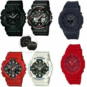 Casio G-Shock GA-2100-1A1ER Carbon Core Guard Watch Sports Smart Watch