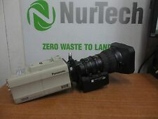 "Panasonic AW-E860 2/3"" 3-CCD 16:9/4:3 Industrial Color Video Camera w/ Lens"