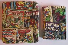 Avengers Captain America Marvel Comics Trifold Wallet Marvel Comics New 0011