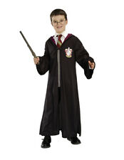 Child HARRY POTTER Costume and Accessories Robe Clasp Wand Glasses