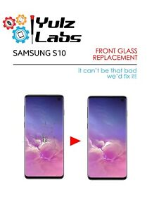 Samsung Galaxy S10 Cracked LCD OLED Screen Glass Replacement Repair Service