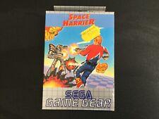 1992 SEGA GAME GEAR SPACE HARRIER NEW IN BOX PAL MULTILANGUAGE BOX