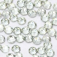 High Quality SS20 5mm Hotfix Iron-On Rhinestones Seads Clear Crystal Brand New