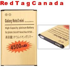 4500mAh Business Gold Replacement Battery for Samsung Galaxy Note III mini N7505