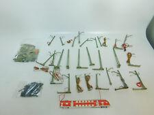 bm657-1 #100x MÄRKLIN H0 manitas-piezas: casquillo + MÁSTIL DE CONEXIÓN etc. ,