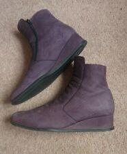 Arche LN Purple Ankle Boots Flat EUR 40 UK 7